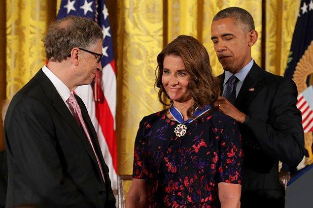 Çift bir yandan da ABD'nin eski başkanı Barack Obama ve Kanada başbakanı Justin Trudeau gibi devlet adamlarıyla beraber Birleşmiş Milletler'in hedefleri hakkındaki çalışmalarını yürütüyor.