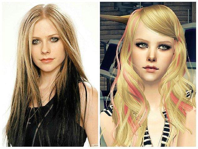 12. Avril Lavigne (The Sims: Superstar)