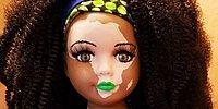 Художница создает куклы с витилиго, чтобы больные им детки чувствовали себя увереннее