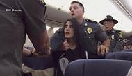 Женщину выволокли из самолета, когда она попросила убрать собак из-за сильной аллергии