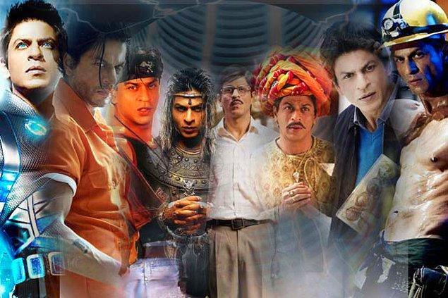 Shah Rukh Khan'ın film karakterleri