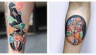Корейский тату-мастер создает татуировки, вдохновленные культовыми картинами