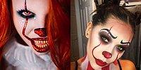 11 идей для хэллоуинского макияжа в стиле Пеннивайза из фильма «Оно»
