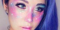 Просто космос: Новый тренд в макияже - созвездия на лице