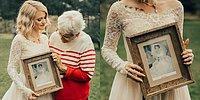 Невеста удивила бабушку, надев ее свадебное платье, которому уже более полувека