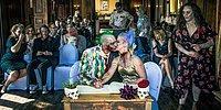 Пока смерть не разлучит вас: Парочка устроила тематическую свадьбу в стиле зомби