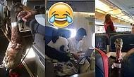 Вы точно надорвёте животы от смеха, увидев эти 15 фото, сделанных на борту самолёта