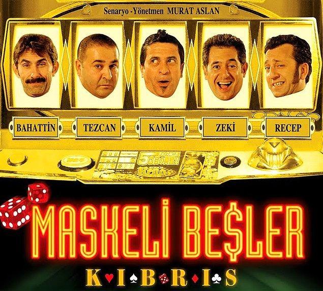17. Maskeli Beşler: Kıbrıs (IMDb Puanı: 2,8)