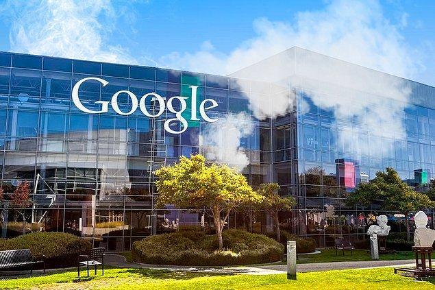 20. Veeee Google Merkez Ofisi duman altı...