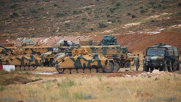 Reuters, görgü tanıklarına dayandırdığı haberde Türk Silahlı Kuvvetleri'ne ait ilk kafilenin İdlib'e girdiğini duyurmuştu.