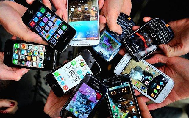 Bir sonraki deneyde akıllı telefon kullanmayan 12 kişiye, 3 aylığına akıllı telefon verildi.