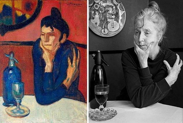 6. Absinthe – Pablo Picasso