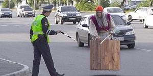 Баба-Яга рассекает по Челябинску