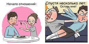 10 комиксов о счастливых отношениях, в которых каждая пара узнает себя!