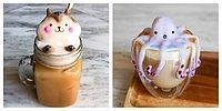 Кофейное искусство: Удивительные 3D-скульптуры на латте от 17-ти летней девушки-самоучки