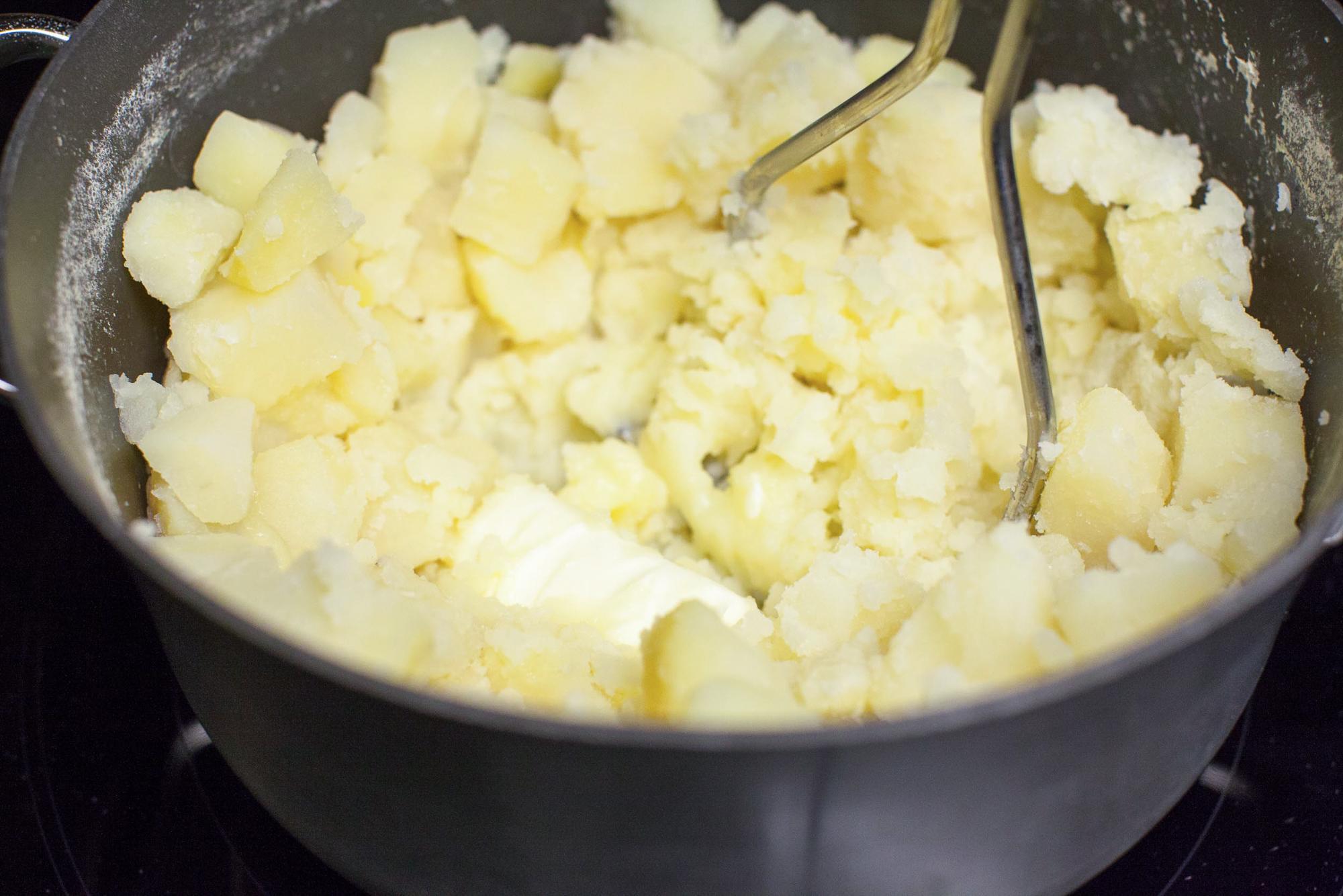 Как приготовить картофельное пюре / Меню недели 17