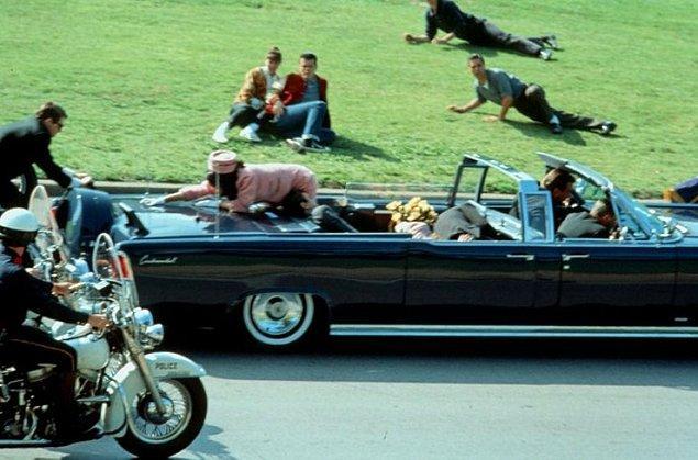 3. ABD başkanlarından John Fitzgerald Kennedy'e suikast düzenleyerek öldüren kimdir?