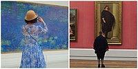 Искусство к лицу: Фотограф делает снимки людей в музеях, когда они идеально сочетаются с картинами