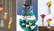 """Станьте свидетелем """"Великого перерождения"""" испорченных лампочек в невероятно интересные предметы декора!"""