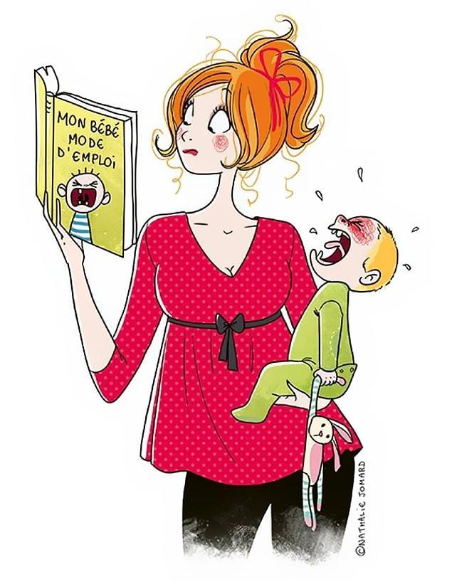 25 метких иллюстраций о том, какого это: быть матерью!