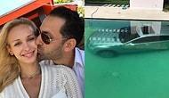 Девушка отомстила бывшему, сбросив его автомобиль ценой 100 000 долларов в бассейн!