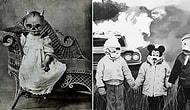 22 действительно пугающие фотографии прошлого с костюмами на Хэллоуин
