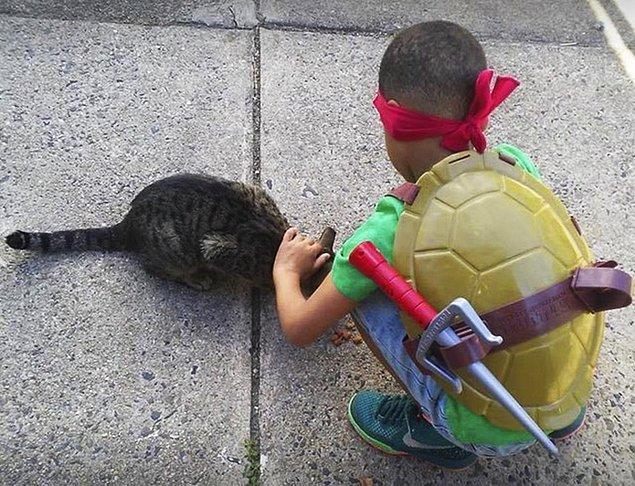 Tabi ki Kedi Adam'a! 😻