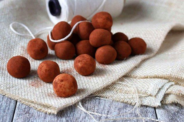 9. Pratik lokmalık bir kakao lezzeti
