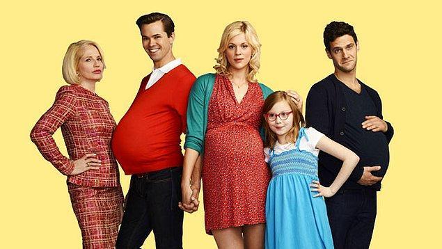 10. 'The New Normal' ve eşcinsel bir çiftin homofobik bir taşıyıcı anneyle çocuk yapması hikayesi.