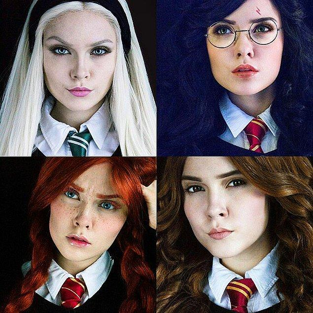 10. Draco Malfoy - Harry Potter - Ron Weasley ve Hermione - Harry Potter