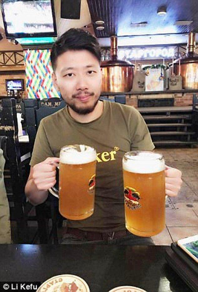Ulove üzerinde aşkı bulan 35 yaşındaki Li Kefu ise, Ukraynalı kadınların Çinli kadınlara göre çok daha açık görüşlü ve eğlenceli olduğunu söylüyor.
