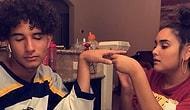 Парень позволил мечтающей стать маникюристом сестре накрасить ему ногти, и он бесподобен!