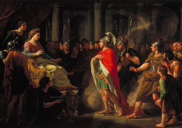 Küllerin İçinden: Aeneas ile Dido