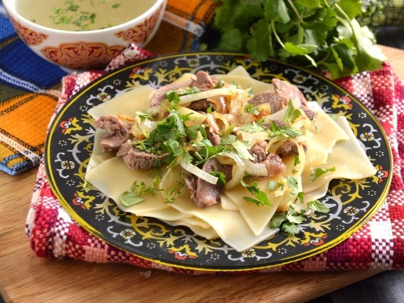 Казахская кухня бешбармак рецепт с фото