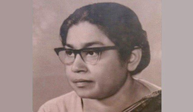 38. Sucheta KRIPALANI, Hint Parlamento Heyeti Başkanı