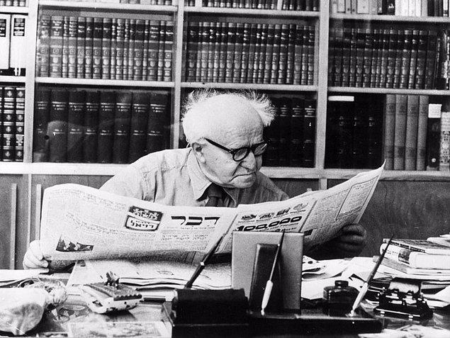 40. Ben Gurion, İsrail Başbakanı (1963)