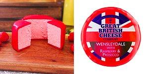 Розовый сыр со вкусом итальянского игристого вина просекко и малины? Теперь это реально!
