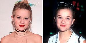 Как близнецы: так выглядят звезды-родители и их дети в одном и том же возрасте
