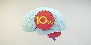 Тест: Большинство людей использует мозг только на 10%. А вы?