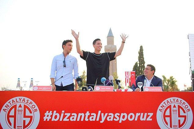 1. Samir Nasri: (Manchester City➡ Antalyaspor)