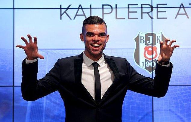 2. Pepe: (Real Madrid➡ Beşiktaş)