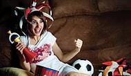 Девушка, которая наберет 10/10, - мечта всех парней, любящих футбол!