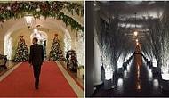 15 самых смешных реакций на жутковатые украшения к Рождеству в Белом доме от Мелании Трамп