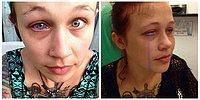 Модель хочет удалить себе глаз после того, как ее бывший сделал ей неудачное тату