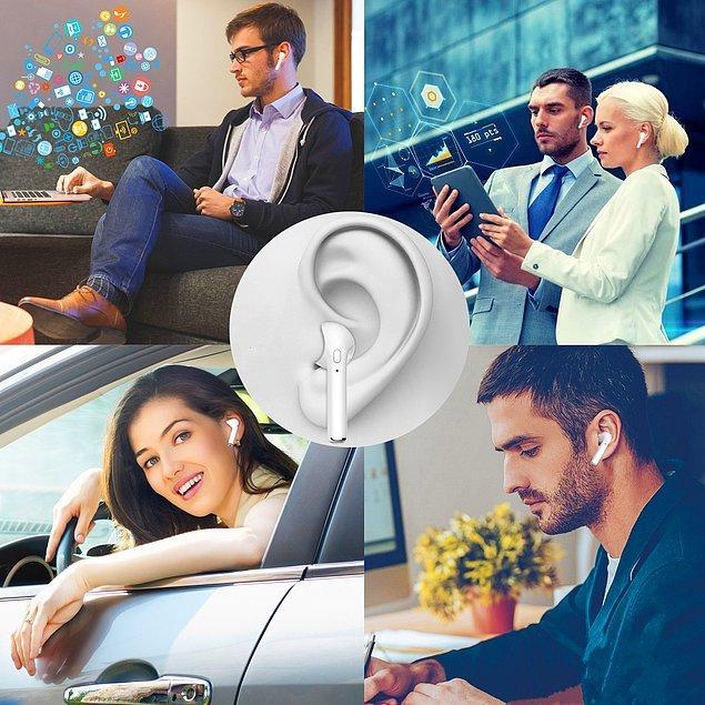 5. Kulaklığınızın kablolarının birbirine girmesi de yeterince canınıza yetmiştir. Bu Bluetooth kulaklıkları hazır bu fiyattayken yakalamanız lazım