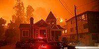13 жутких фотографий декабрьских лесных пожаров в Калифорнии, из-за которых люди бегут из города