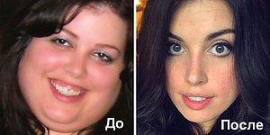 """""""До"""" и """"После"""": 25 фото о том, как меняются лица людей после похудения"""