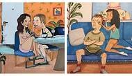 14 теплых иллюстраций о том, как выглядит любовь, когда вас никто не видит