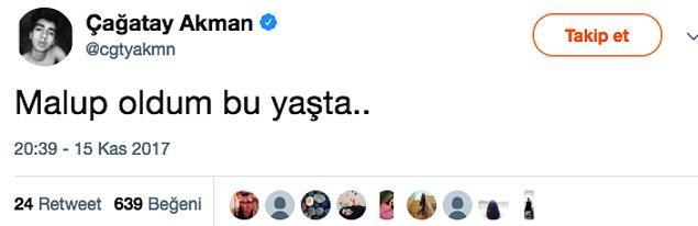 """8. Bazen 'Ğ"""" harfinin de kaybolduğu oluyor yazdığı tweetlerde, olsun..."""