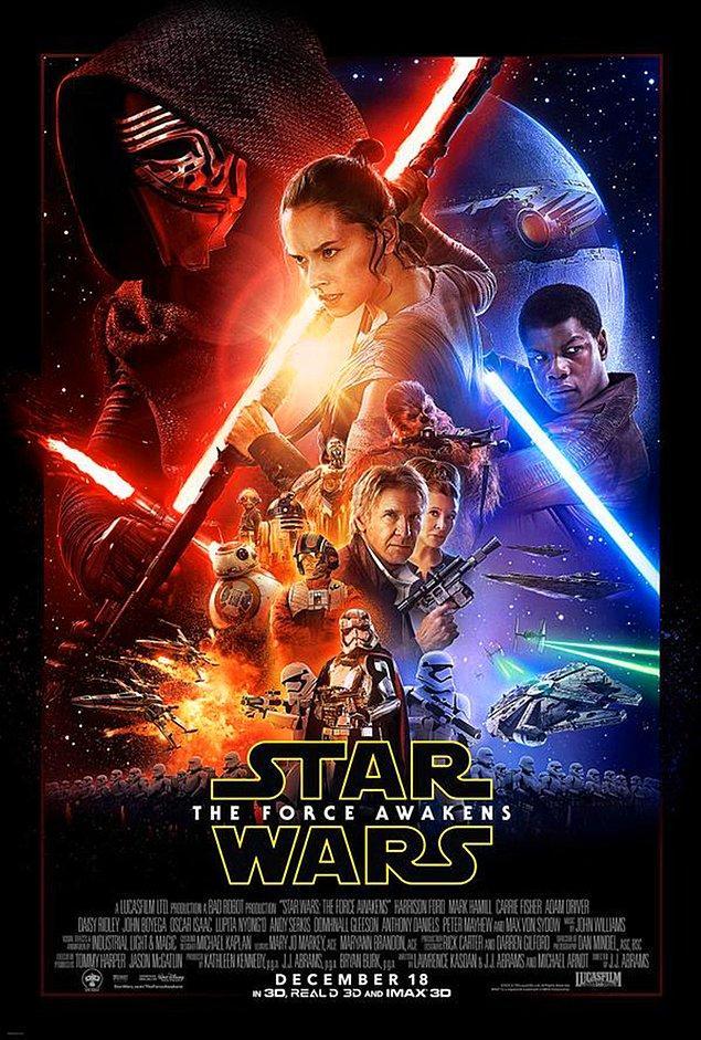 14. Star Wars: Bölüm 7 - Güç Uyanıyor